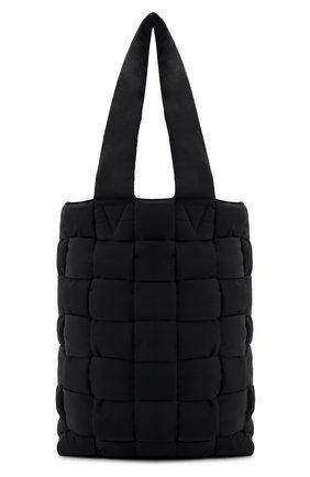 Мужская текстильная сумка-шопер BOTTEGA VENETA черного цвета, арт. 628958/VB081 | Фото 1