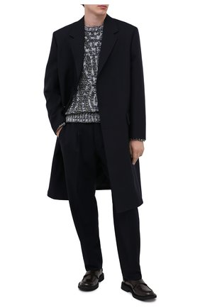 Мужской свитер GIORGIO ARMANI серого цвета, арт. 6HSM22/SM30Z | Фото 2