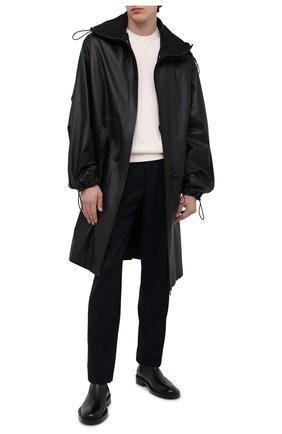 Мужские кожаные челси JIL SANDER черного цвета, арт. JI35531A-12280 | Фото 2