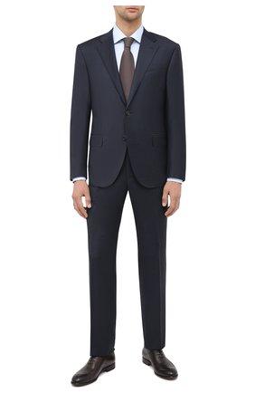 Мужской шерстяной костюм CORNELIANI темно-синего цвета, арт. 867268-0817219/92 Q1 | Фото 1