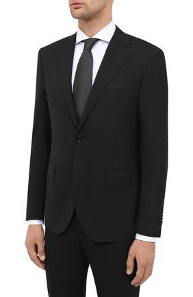 Мужской шерстяной костюм CORNELIANI черного цвета, арт. 867268-0818414/92 Q1 | Фото 2