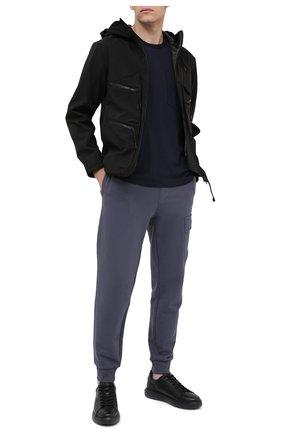 Мужская куртка C.P. COMPANY черного цвета, арт. 09CM0W046A-005784A | Фото 2