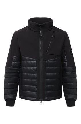 Мужская утепленная куртка C.P. COMPANY черного цвета, арт. 09CM0W049A-005784M | Фото 1