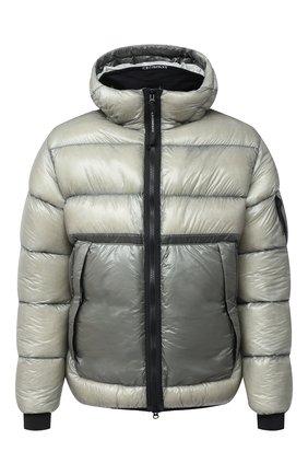 Мужская пуховая куртка C.P. COMPANY серого цвета, арт. 09CM0W068A-005791A | Фото 1