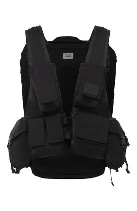 Мужской текстильный рюкзак C.P. COMPANY черного цвета, арт. 09CM0W173A-005269G | Фото 1