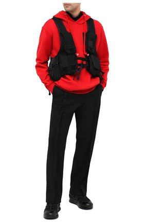 Мужской текстильный рюкзак C.P. COMPANY черного цвета, арт. 09CM0W173A-005269G | Фото 2