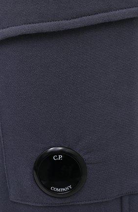 Мужские хлопковые джоггеры C.P. COMPANY темно-синего цвета, арт. 09CMSP010A-005086W   Фото 5