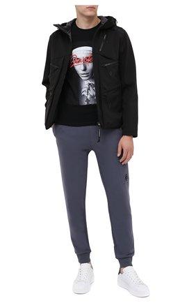 Мужская хлопковая футболка BISIBIGLIO черного цвета, арт. DEV0TED PRAY/PESANTE | Фото 2