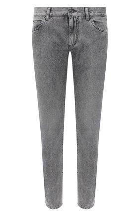 Мужские джинсы DOLCE & GABBANA серого цвета, арт. GYJCCD/G8DB6 | Фото 1