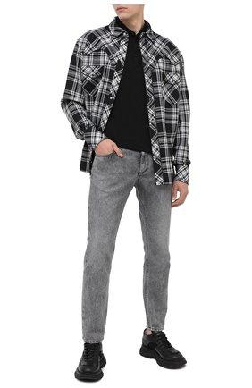 Мужские джинсы DOLCE & GABBANA серого цвета, арт. GYJCCD/G8DB6 | Фото 2