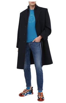 Мужские джинсы DOLCE & GABBANA синего цвета, арт. GYC4LD/G8CU9 | Фото 2