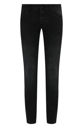 Мужские джинсы DOLCE & GABBANA темно-серого цвета, арт. GY07LD/G8C02 | Фото 1