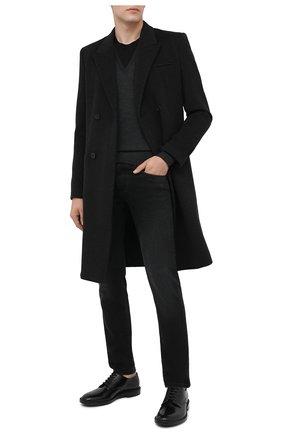 Мужские джинсы DOLCE & GABBANA темно-серого цвета, арт. GY07LD/G8C02 | Фото 2