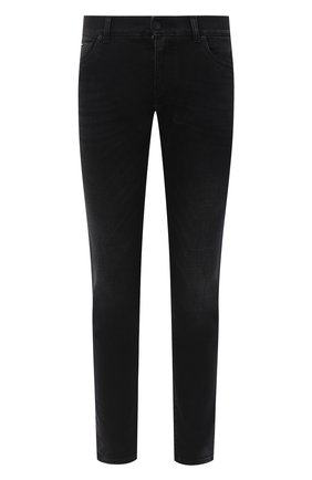 Мужские джинсы DOLCE & GABBANA темно-серого цвета, арт. GY07CD/G8C02 | Фото 1