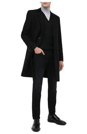Мужские джинсы DOLCE & GABBANA темно-серого цвета, арт. GY07CD/G8C02 | Фото 2