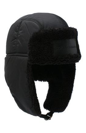 Утепленная шапка-ушанка | Фото №1