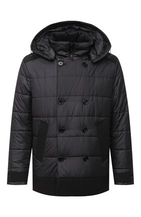 Мужская утепленная куртка DOLCE & GABBANA черного цвета, арт. G9SN9T/HUMEQ | Фото 1