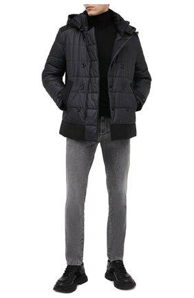 Мужская утепленная куртка DOLCE & GABBANA черного цвета, арт. G9SN9T/HUMEQ | Фото 2