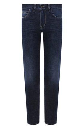 Мужские джинсы Z ZEGNA темно-синего цвета, арт. VV741/ZZ540 | Фото 1