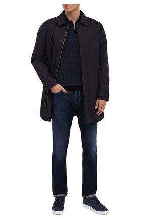 Мужские джинсы Z ZEGNA темно-синего цвета, арт. VV741/ZZ540 | Фото 2