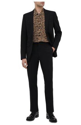 Мужской шерстяной пиджак DSQUARED2 черного цвета, арт. S74BN1004/S40320 | Фото 2