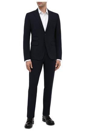 Мужской шерстяной костюм DSQUARED2 темно-синего цвета, арт. S74FT0407/S40320 | Фото 1