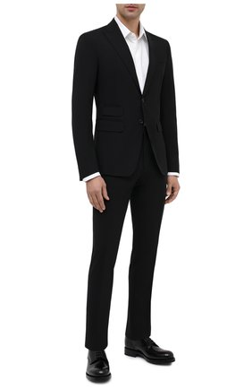 Мужской шерстяной костюм DSQUARED2 черного цвета, арт. S74FT0407/S40320 | Фото 1
