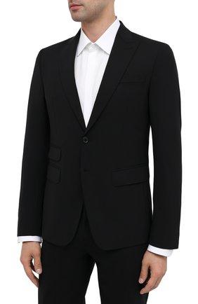 Мужской шерстяной костюм DSQUARED2 черного цвета, арт. S74FT0407/S40320 | Фото 2