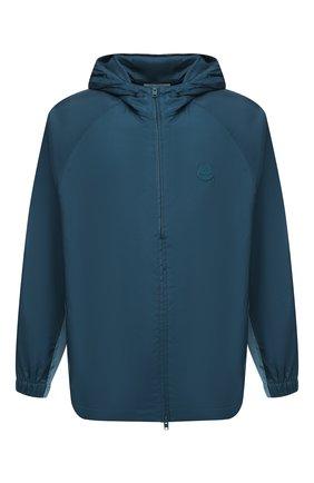Мужская куртка KENZO бирюзового цвета, арт. FA65BL1481NF   Фото 1
