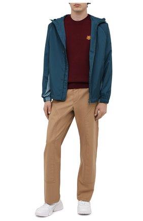 Мужская куртка KENZO бирюзового цвета, арт. FA65BL1481NF   Фото 2