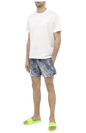 Детского плавки-шорты HUGO синего цвета, арт. 50437772   Фото 2