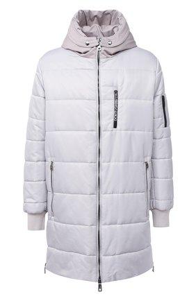 Мужская утепленное пальто DOLCE & GABBANA светло-серого цвета, арт. G9S02T/HUMBF | Фото 1