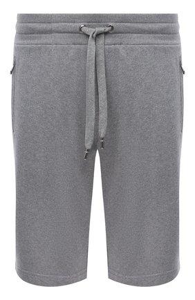 Мужские хлопковые шорты DOLCE & GABBANA серого цвета, арт. GYUTEZ/G7WR0 | Фото 1