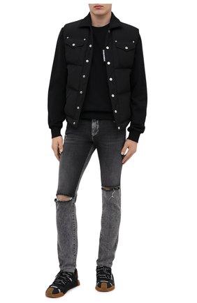 Мужские джинсы DOLCE & GABBANA серого цвета, арт. GY07LD/G8CS1 | Фото 2