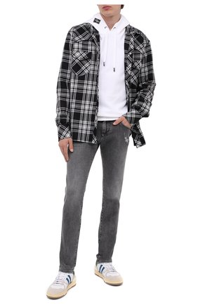 Мужские джинсы DOLCE & GABBANA серого цвета, арт. GY07LD/G8CP3 | Фото 2