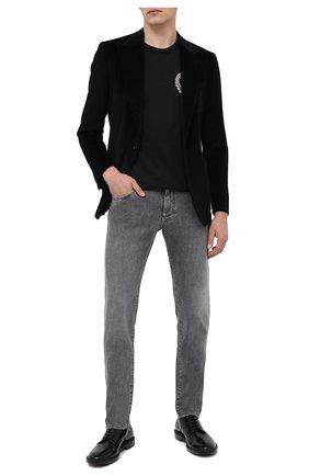 Мужские джинсы DOLCE & GABBANA серого цвета, арт. GY07CD/G8CP3 | Фото 2