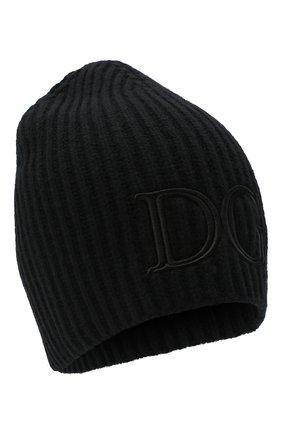Мужская шерстяная шапка DOLCE & GABBANA черного цвета, арт. GXB86Z/JAVYR | Фото 1