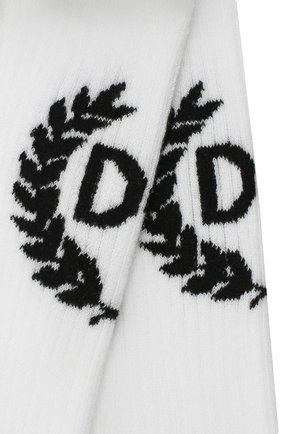 Мужские носки DOLCE & GABBANA белого цвета, арт. GXA82T/JACHU   Фото 2