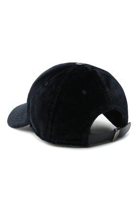Мужской хлопковая бейсболка DOLCE & GABBANA темно-синего цвета, арт. GH590Z/GE057 | Фото 2