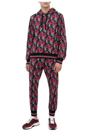 Мужской хлопковое худи DOLCE & GABBANA разноцветного цвета, арт. G9TL8T/FI750 | Фото 2