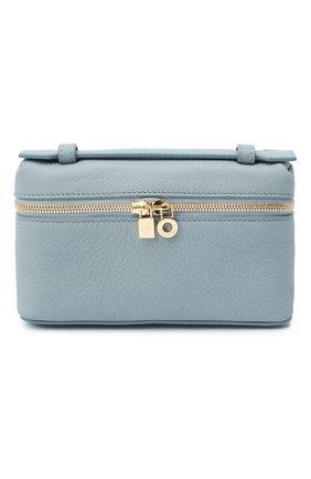 Женская поясная сумка extra pocket l16 LORO PIANA голубого цвета, арт. FAI8396 | Фото 1