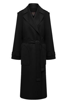 Женское кашемировое пальто LORO PIANA темно-синего цвета, арт. FAL2202 | Фото 1