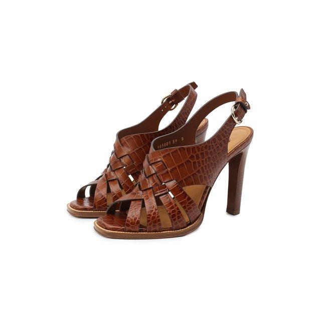 Кожаные босоножки Ralph Lauren