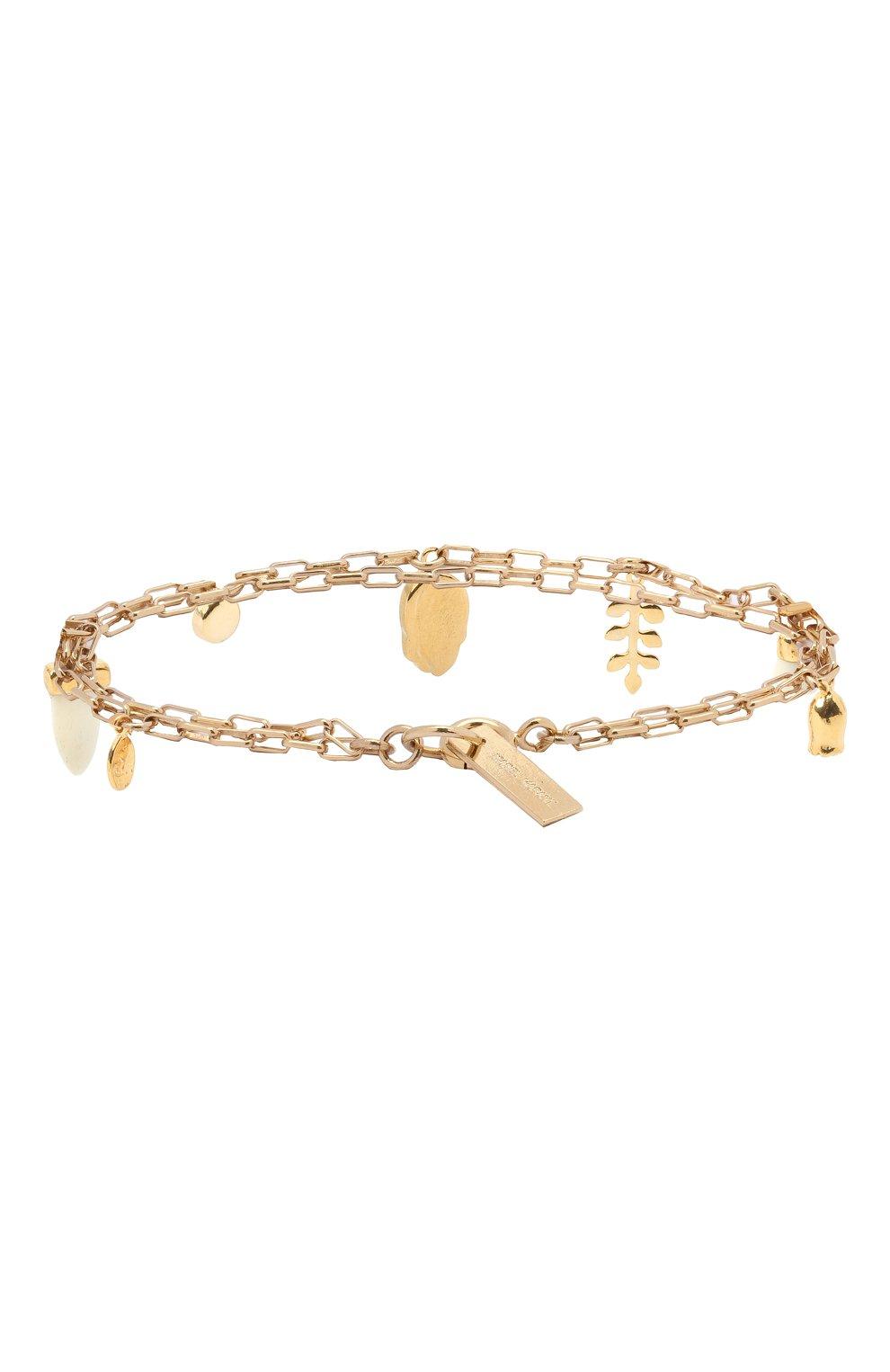 Женский браслет ISABEL MARANT золотого цвета, арт. BR0751-20A023B | Фото 2