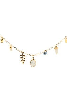 Женский браслет ISABEL MARANT золотого цвета, арт. BR0751-20A023B | Фото 3