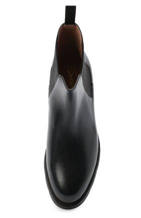 Женские кожаные челси SANTONI черного цвета, арт. WTUD55806SM0NLESN20 | Фото 5