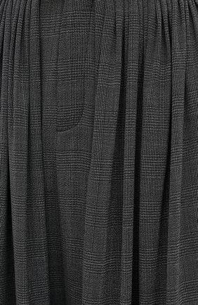 Женские шерстяные брюки CHLOÉ черного цвета, арт. CHC20APA23063 | Фото 6