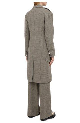 Женское шерстяное пальто CHLOÉ зеленого цвета, арт. CHC20AVE14163 | Фото 5