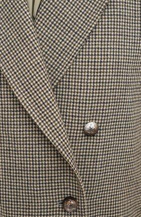 Женское шерстяное пальто CHLOÉ зеленого цвета, арт. CHC20AVE14163 | Фото 6