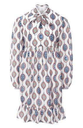 Женское шелковое платье CHLOÉ разноцветного цвета, арт. CHC20AR006321   Фото 1